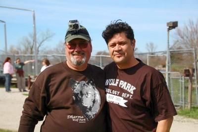 Manuel avec Ken Mc Cort aux USA
